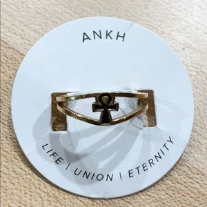 Alex and Ani Ankh Ring